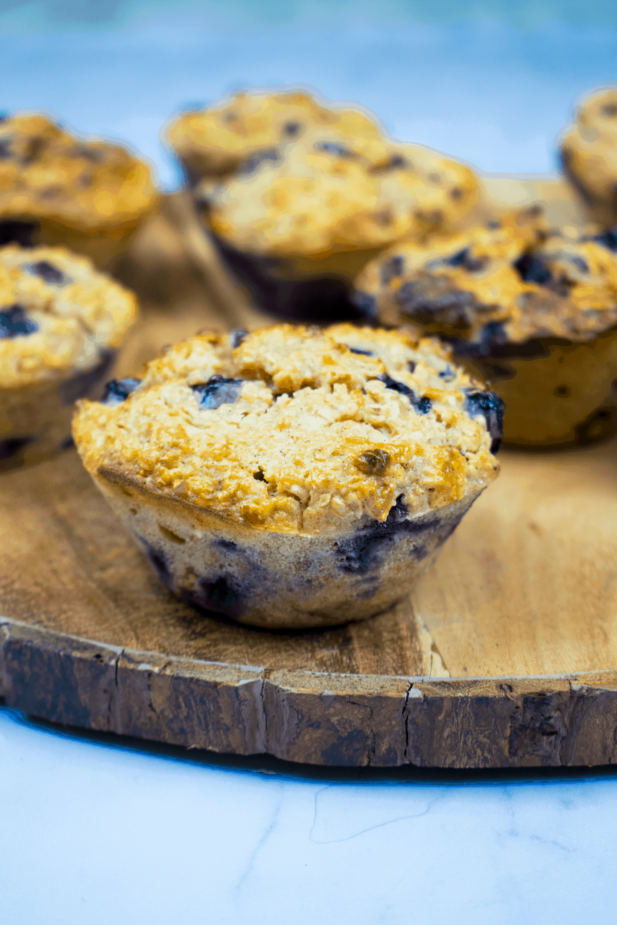 Healthy Gluten Free Blueberry and Oat Muffins - Basement ...