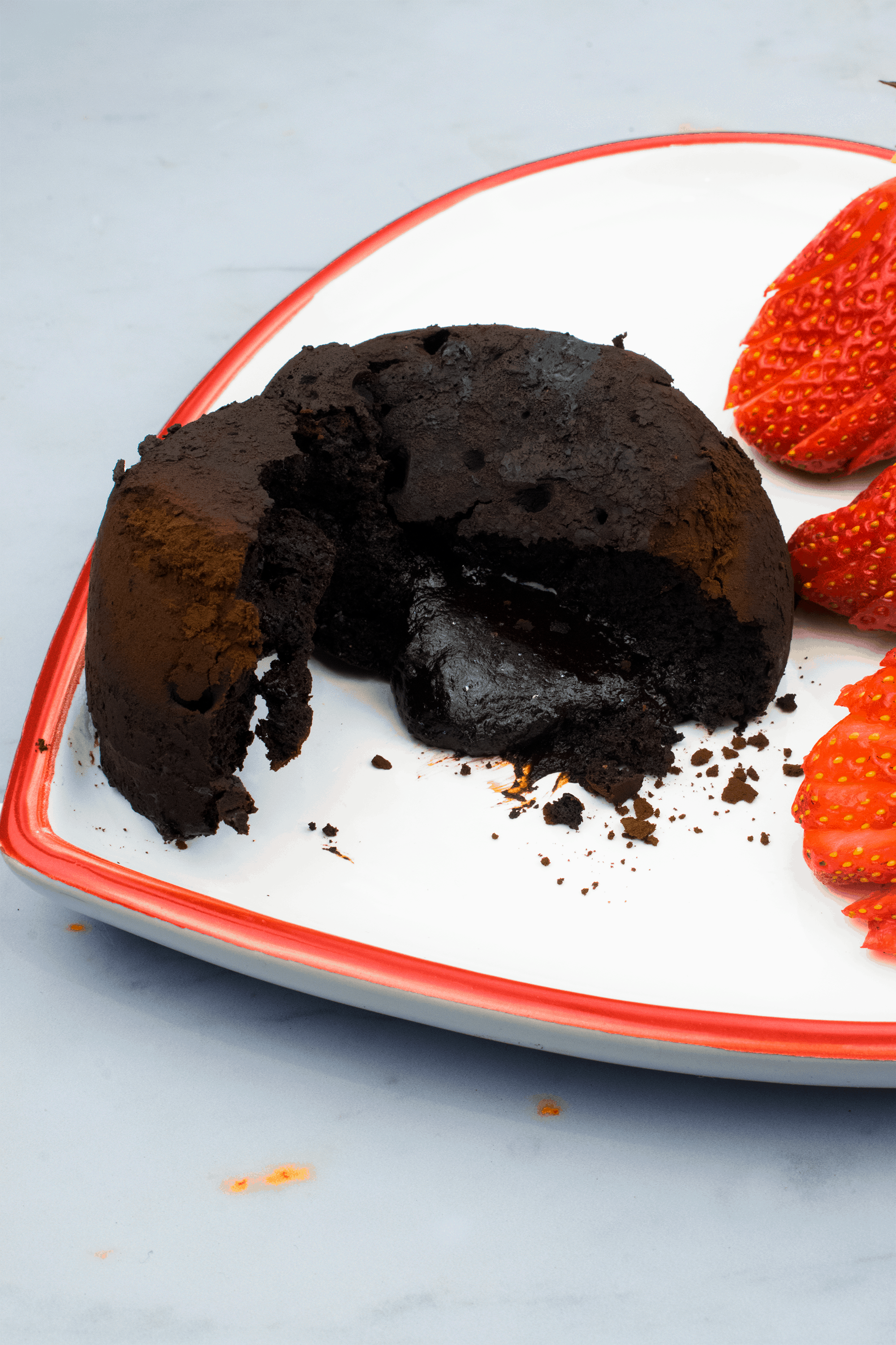 Low Carb Chocolate Fondant
