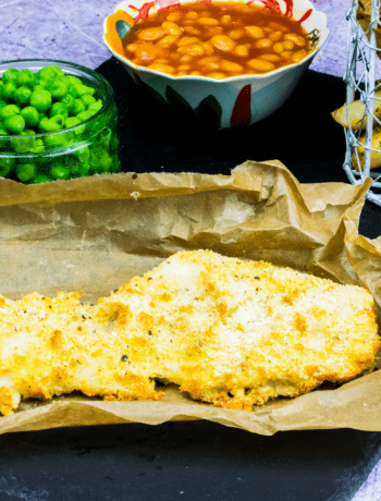 Healthy Fish and Chips - Syn Free - Slimming World - low carb - gluten free