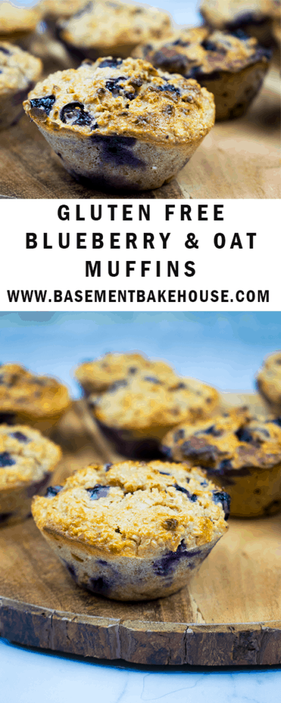 You'll love this recipe for Healthy Gluten Free Blueberry and Oat Muffins! Not only are they gluten free, making them ideal if you're coeliac or gluten intolerant, but they're refined sugar free and Slimming World friendly too! Can be used as your Healthy Extra B and they're low syn either way! Perfect as a healthy breakfast recipe or a healthy snack!