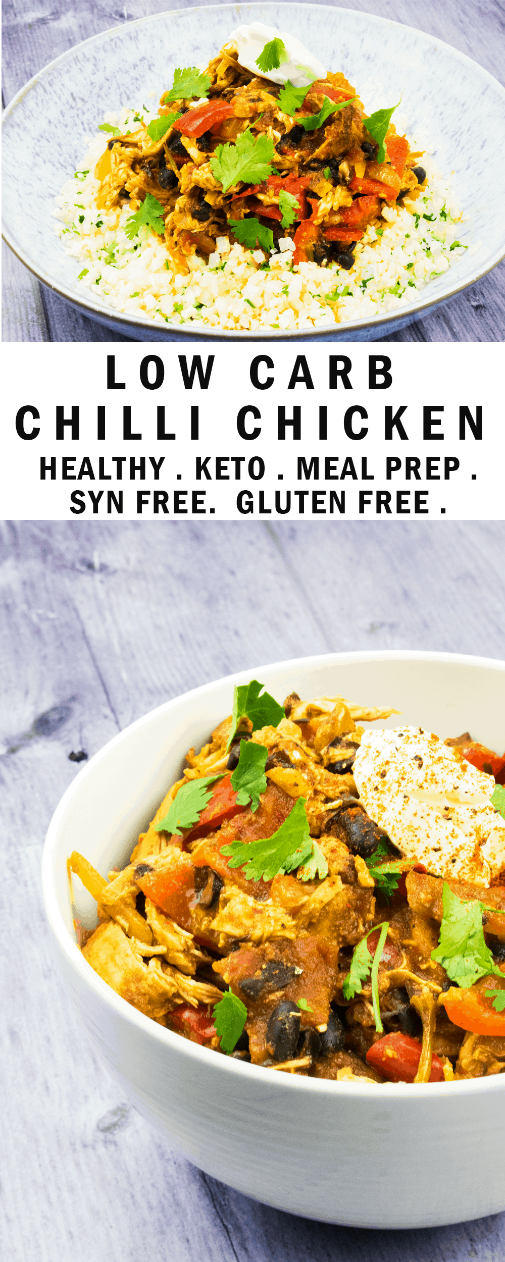 Easy Peasy Low Carb Chilli Chicken - Basement Bakehouse