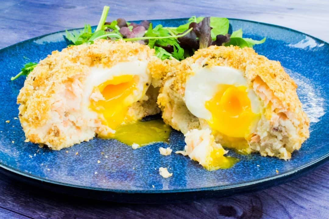 Healthy Fishcake Scotch Egg - Slimming World Friendly - Iceland Foods - Syn Free - Healthy Extra B - Fish