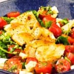 Easy Peasy Chicken Caprese Salad