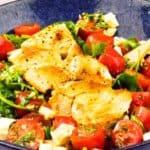 Easy Peasy Chicken Caprese Salad
