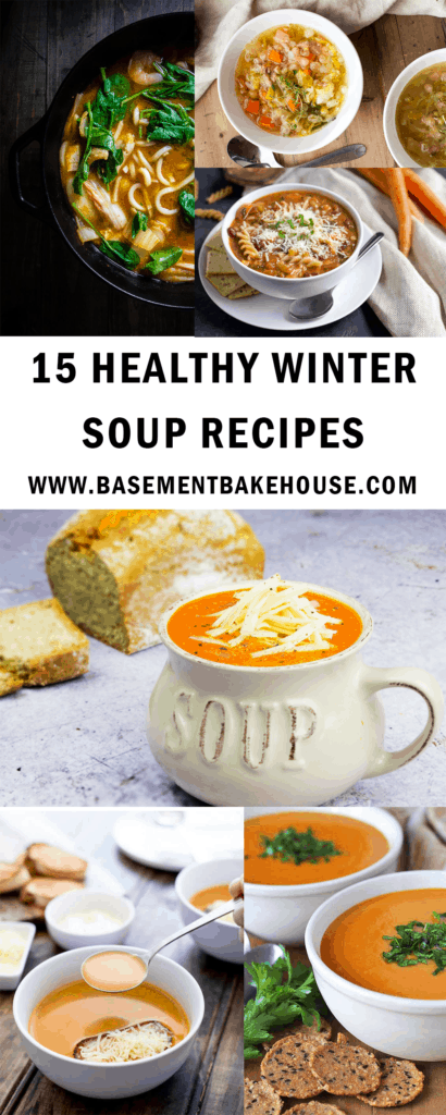 These delicous winter soup recipes are the perfect health soup ideas to get you through cold months! Healthy, easy to make and delicious, they're perfect for dinner, lunch or meal prep!