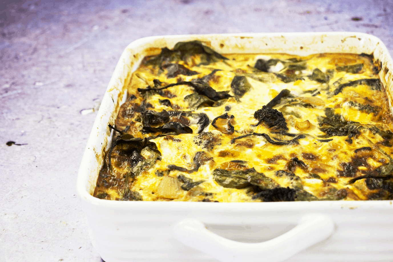 Roasted Vegetable - Crustless Quiche - Traybake - Slimming World - Syn Free - Recipe