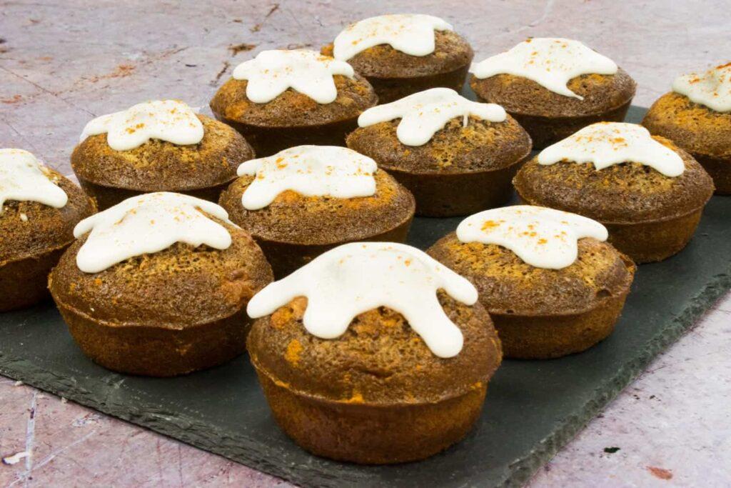 Individual - Slimming World Friendly Christmas Cakes - healthy - festive - baking