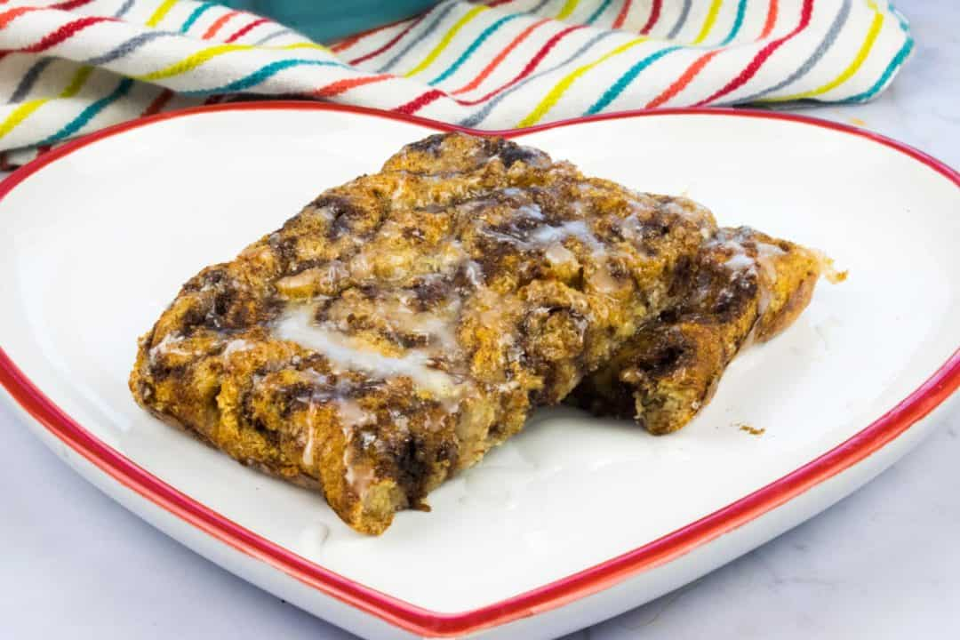 Low Syn - Cinnamon Roll French Toast Bake - Slimming World - Low Syn - Breakfast