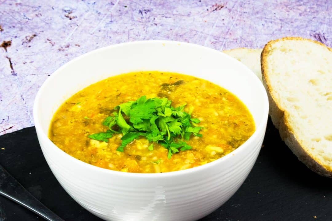 Chunky Winter Vegetable & Rice Soup - slimming world - simplissimo chef - winter - soup - slimming world - syn free