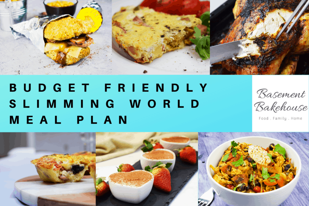 BUDGET SLIMMING WORLD MEAL PLAN