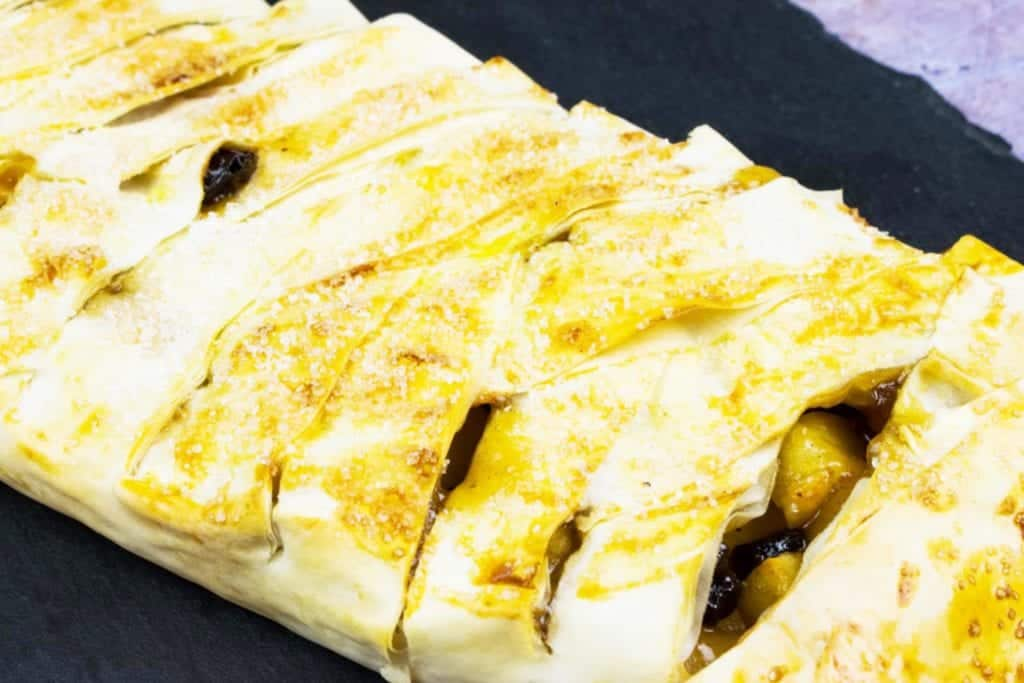 Low Syn Apple Strudel