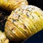 Syn Free Garlic & Parmesan Hasselback Potatoes