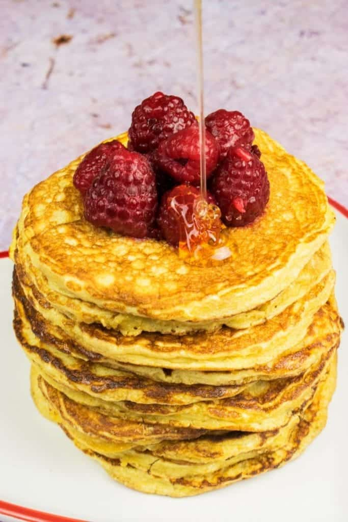 Syn Free American Pancakes for Slimming World Healthy Extra B - finished recipe shot