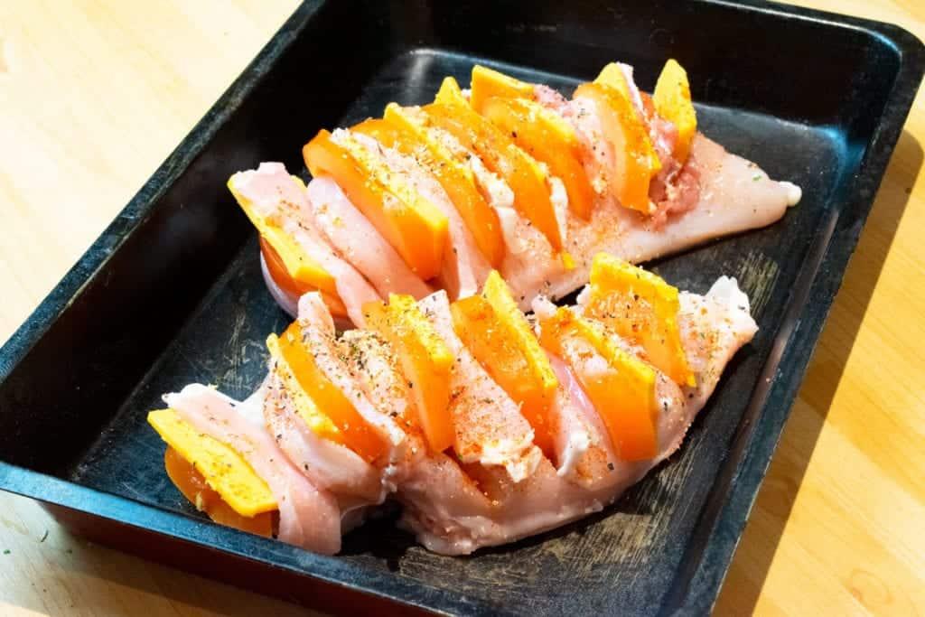 Syn Free Hasselback Chicken Slimming World Dinner Recipe