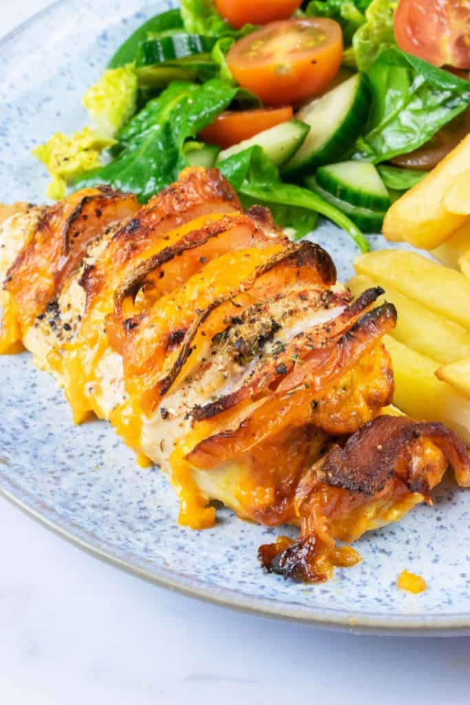 Syn Free Hasselback Chicken Slimming World Dinner Recipe