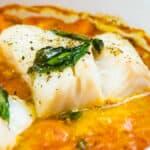 Tomato & Basil Baked Cod Loin
