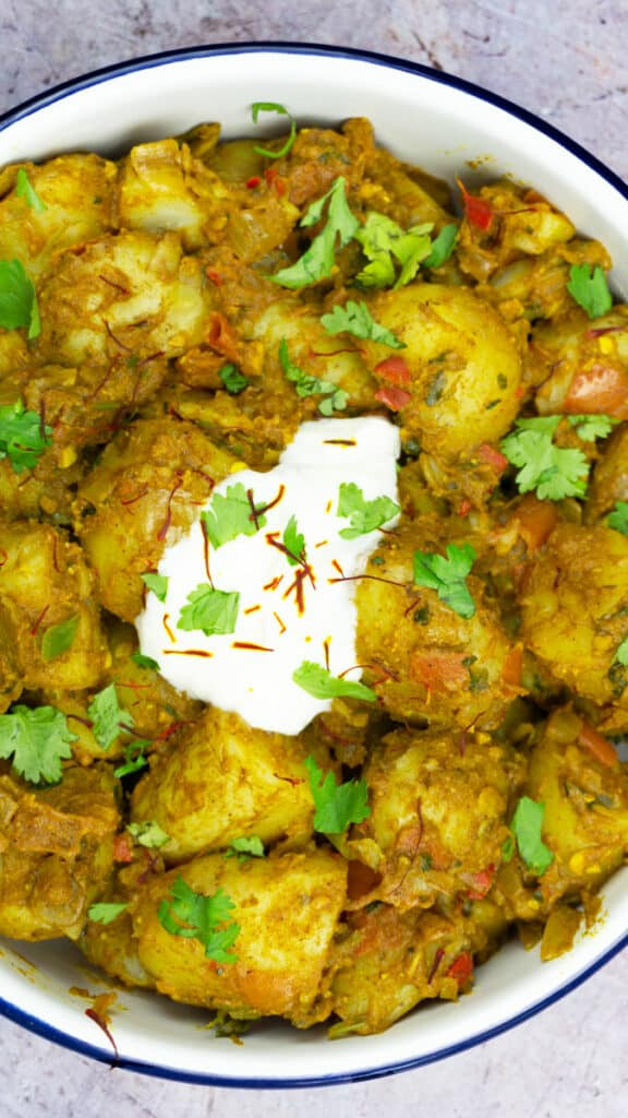 Best Ever Easy Potato Curry