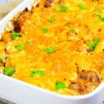 Low Syn Chicken & Chorizo Pasta Bake