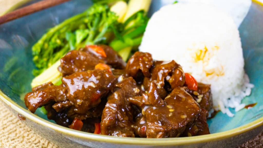 Sticky Honey Garlic Steak Bites - Slimming World - Low Syn