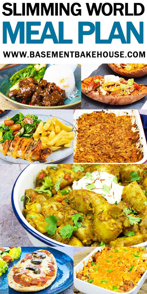 SLIMMING WORLD MEAL PLAN - Seven Days of delicious, low syn or syn free Slimming World recipes for breakfast, lunch & dinner + snacks! Lose weight and stay healthy with this amazing Slimming World meal plan.