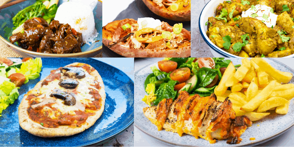 Slimming World Meal Plan Featured Image Collage