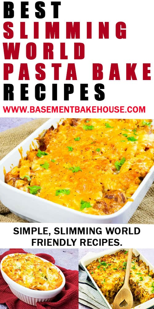 These are the best Slimming World pasta bake recipes for you to make at home! Syn free, low syn and super simple to make, they'll be loved by the whole family. If you're looking for a healthy, Slimming World friendly pasta recipe then these are for you.